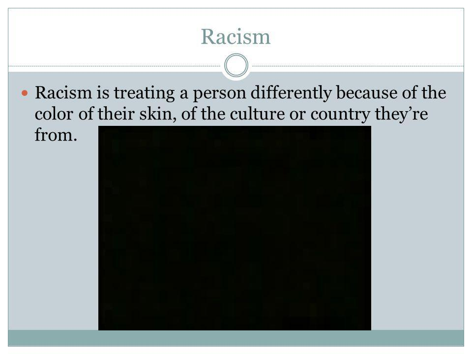 Agism Treating people differently because they are older or younger than you think they should be.