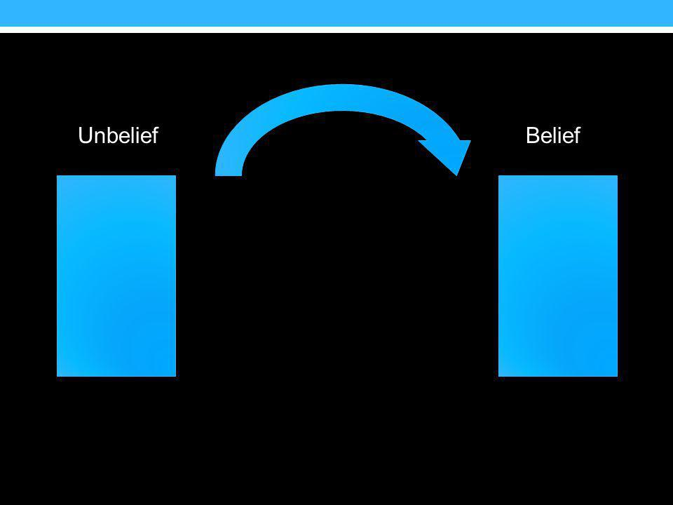 Unbelief Belief