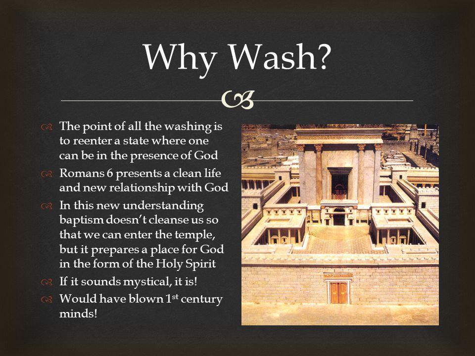  Why Wash.