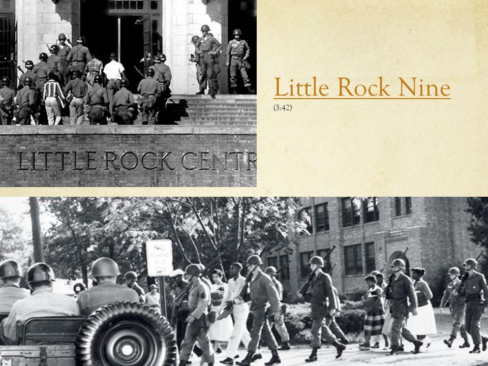 Little Rock Nine (3:42)