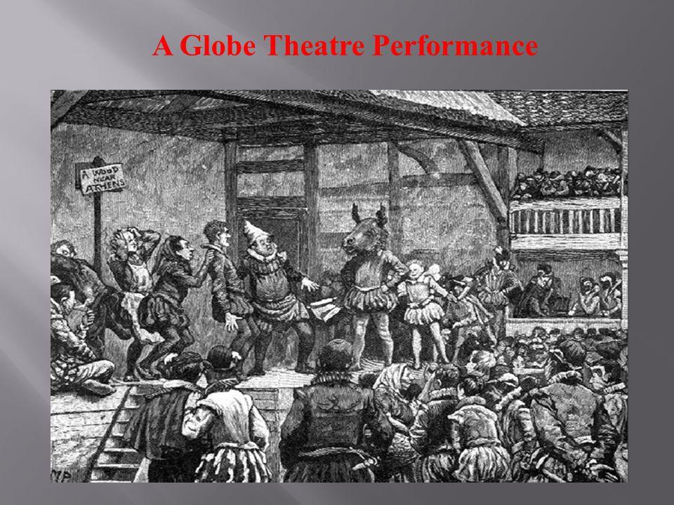 A Globe Theatre Performance