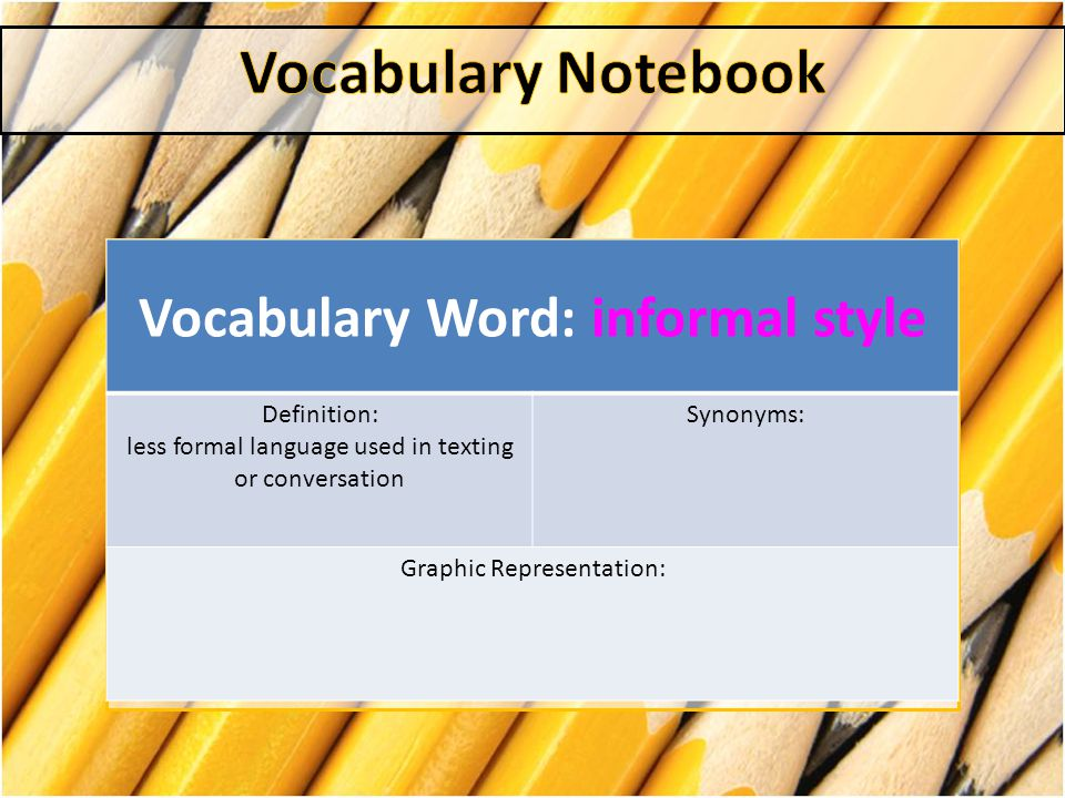 What is a another word for informal essay