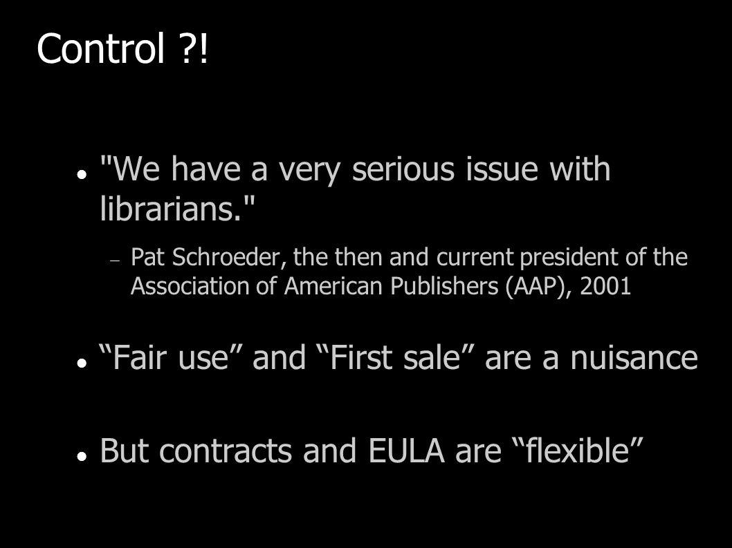 Control ?!