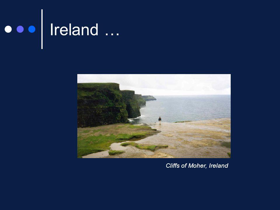 Ireland … Cliffs of Moher, Ireland