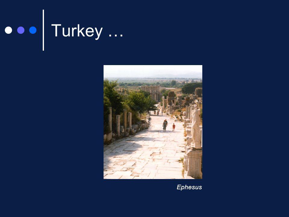 Turkey … Ephesus