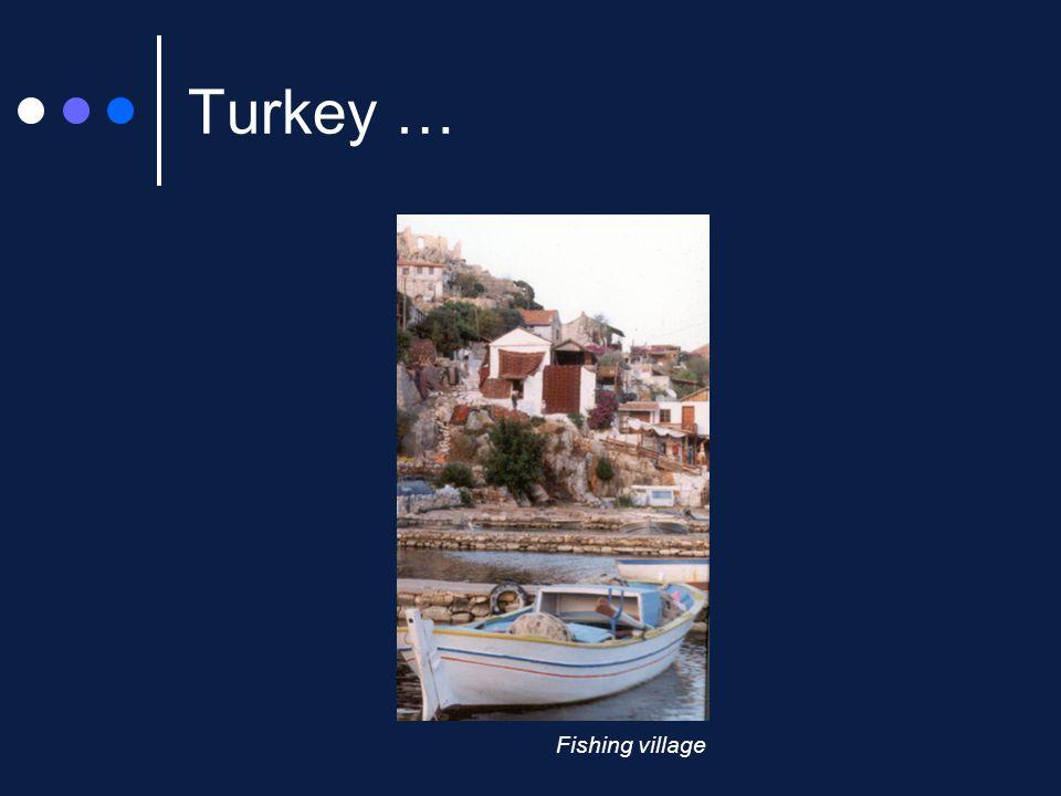 Turkey … Fishing village
