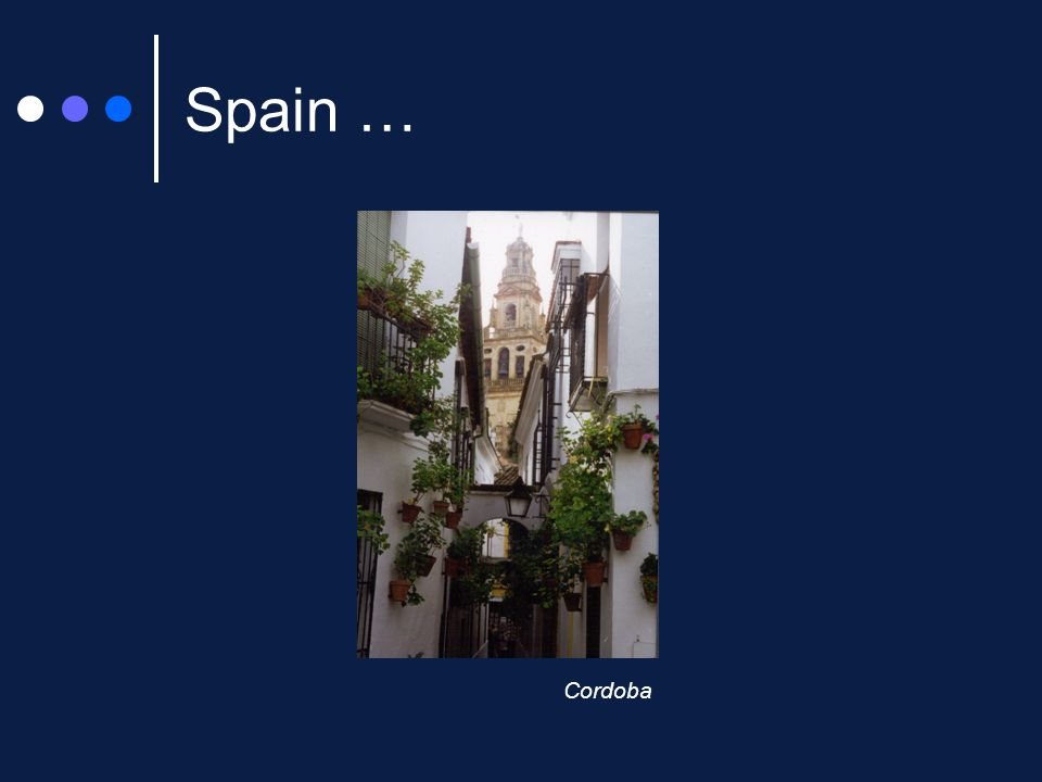 Spain … Cordoba