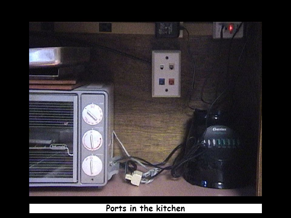 Ports in the kitchen