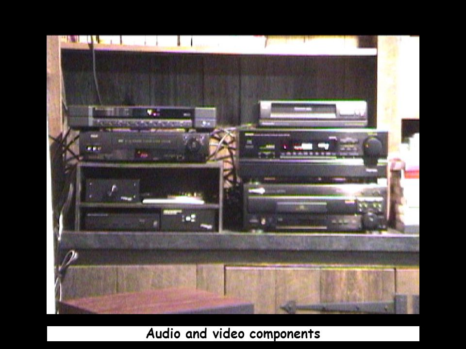Audio and video components