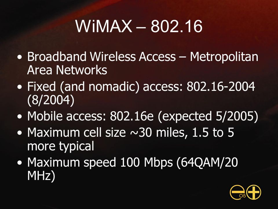 City-Wide Wi-Fi in Chaska, MN City operated, 16 square mile coverage area Public safety, low-cost residential broadband service 7500 homes passed, 1100 pre-registered 200 cells, <$500,000 CapEx