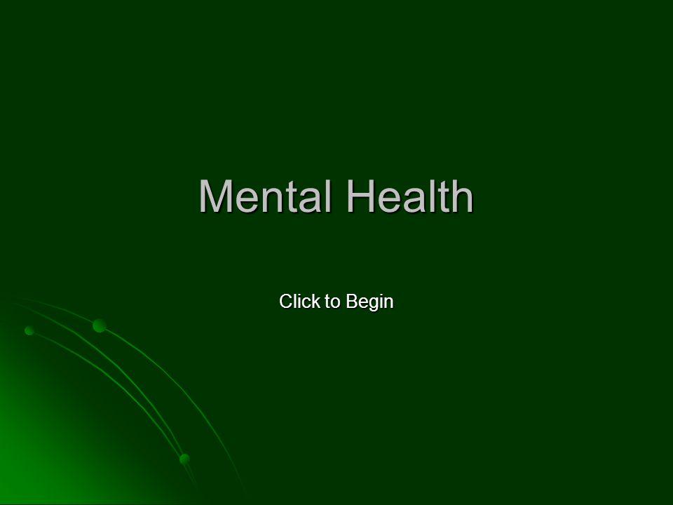 Mental Health Click to Begin