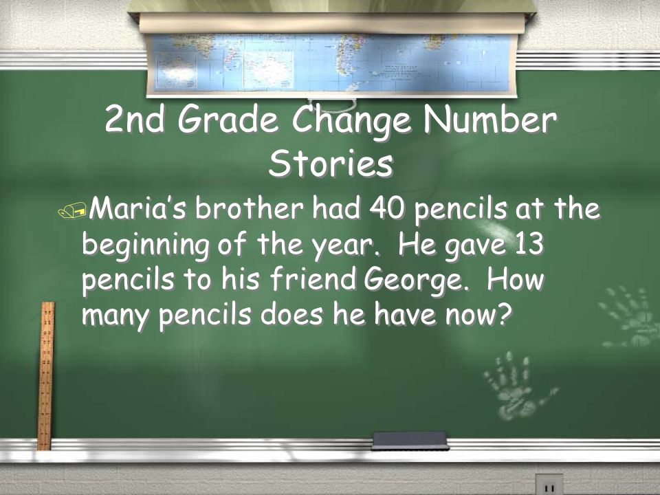 2nd Grade Part Total Number Stories Answer 31 suckers Return 31 1318