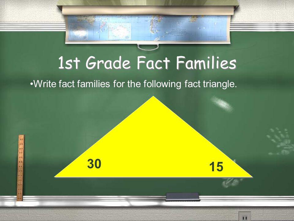 2nd Grade Number Stories Answer 27 pencils Return Start 40 Change - 13 End 27