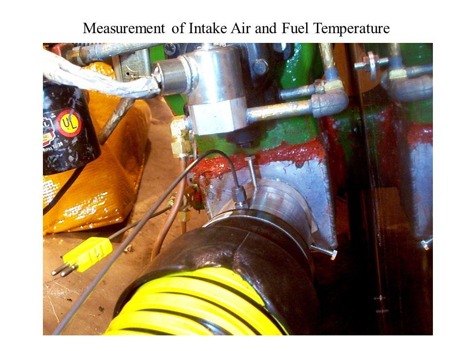 Intake Airbox Holding Air Velocity Meter