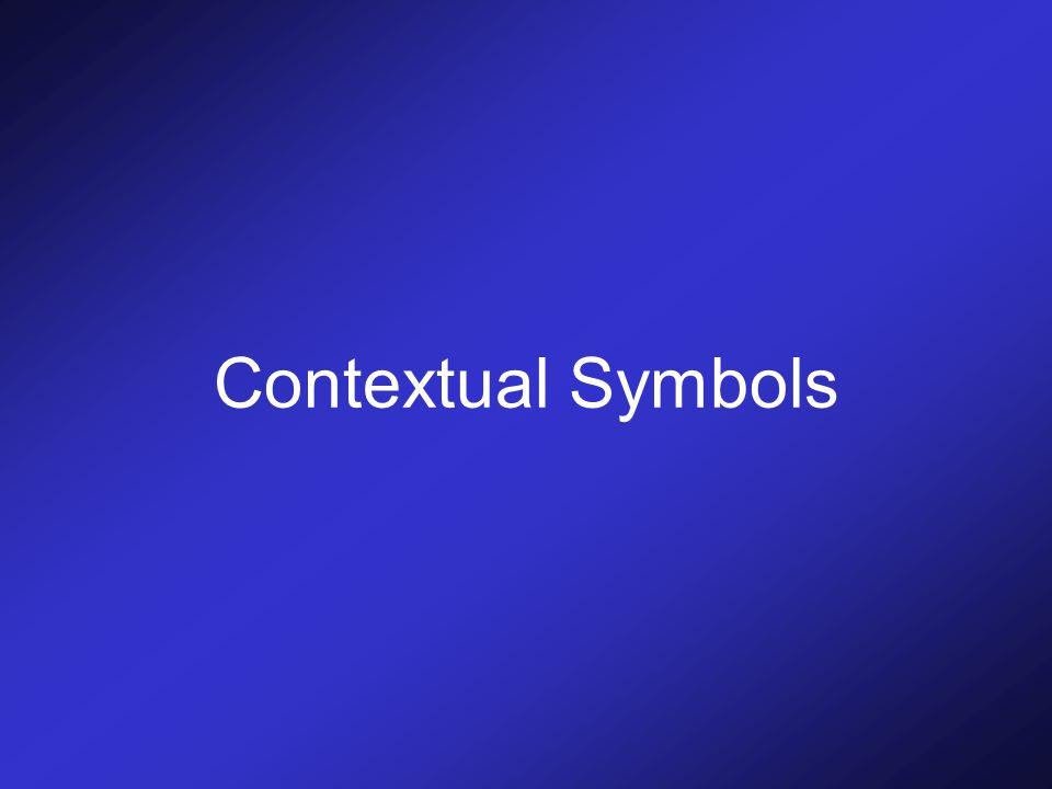 Contextual Symbols
