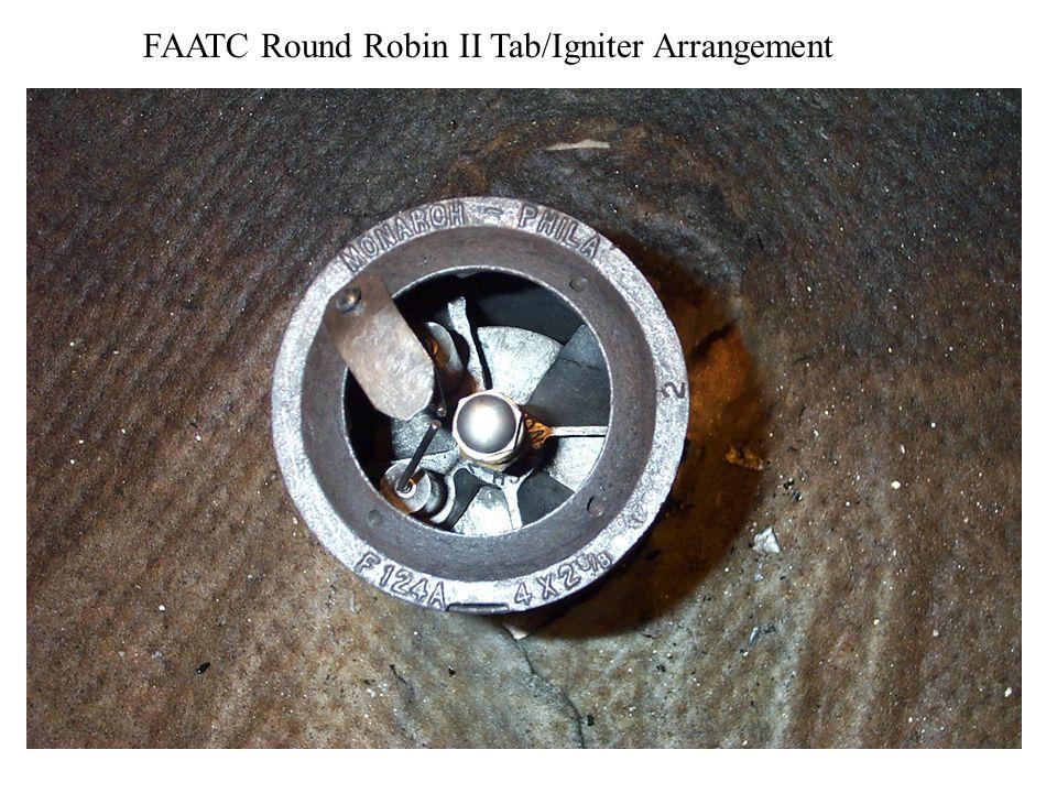 FAATC Round Robin II Tab/Igniter Arrangement