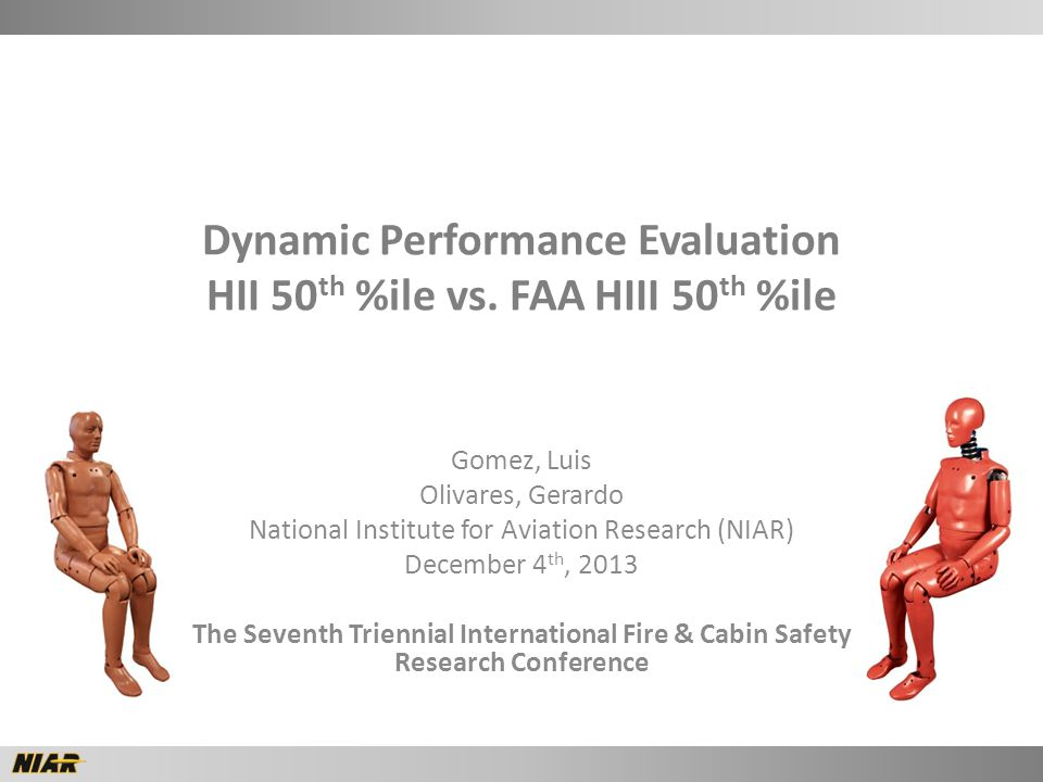 Dynamic Performance Evaluation HII 50 th %ile vs.