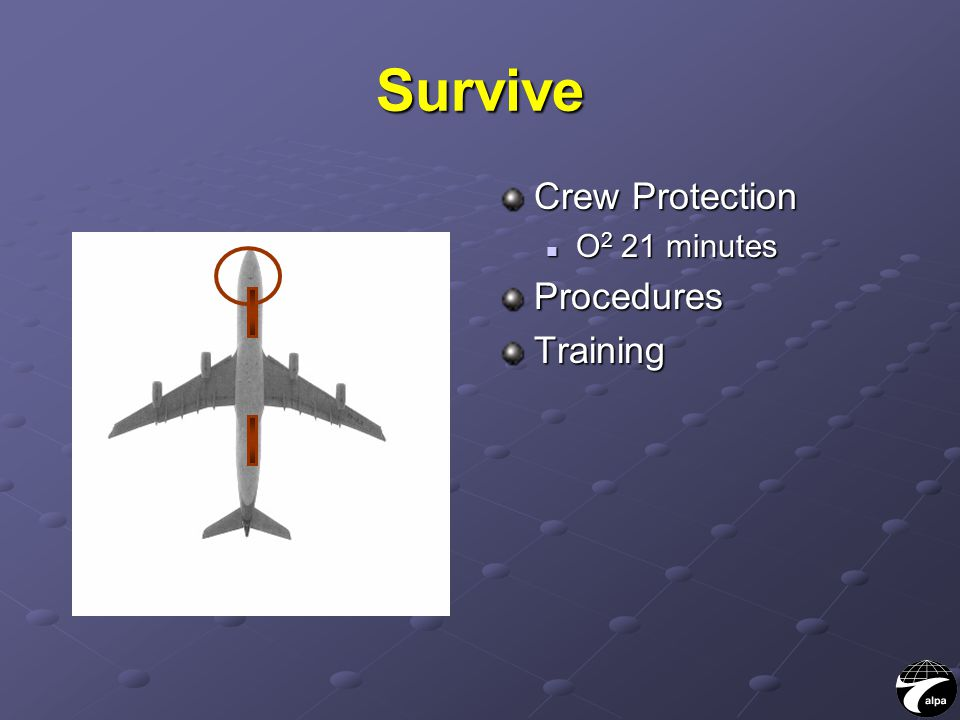 Survive Crew Protection O 2 21 minutesProceduresTraining