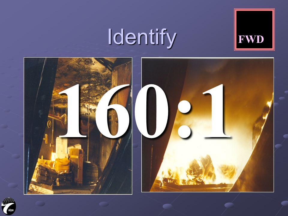 Identify 160:1 FWD