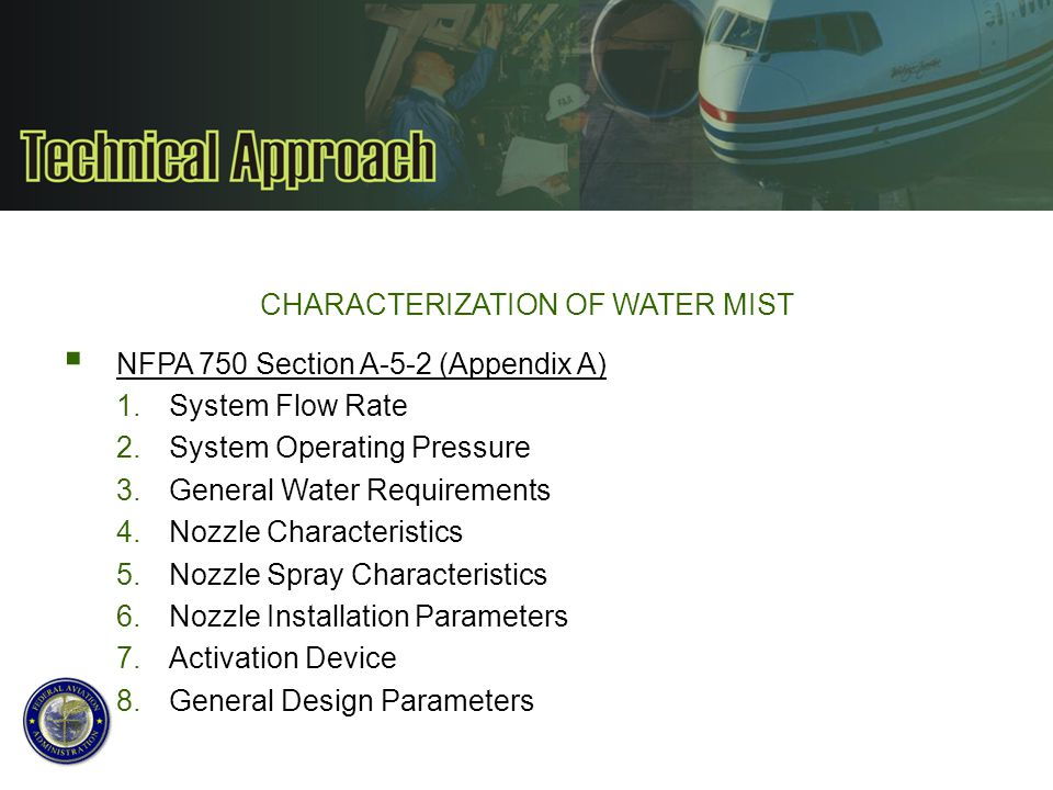 CHARACTERIZATION OF WATER MIST/N2 SYSTEM WATER COLLECTION TEST TC-10 Class E 1 Zone/8 Nozzles On