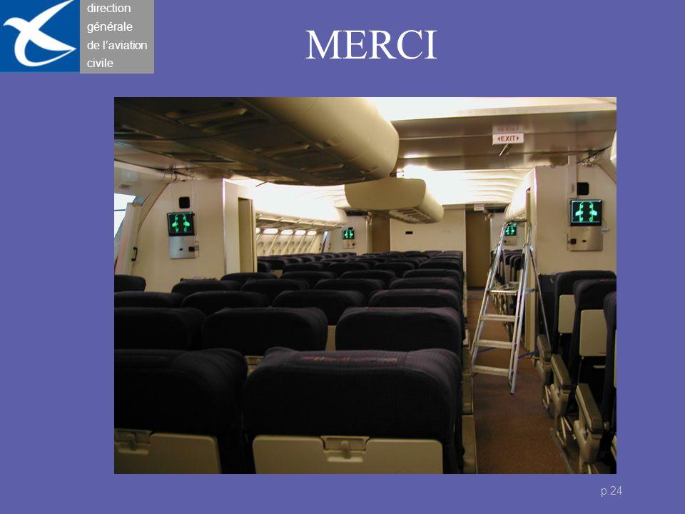 direction générale de l'aviation civile p.24 MERCI