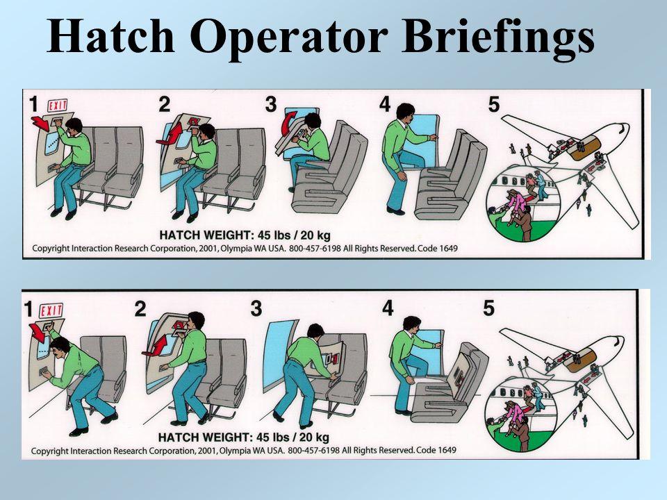 Hatch Operator Briefings