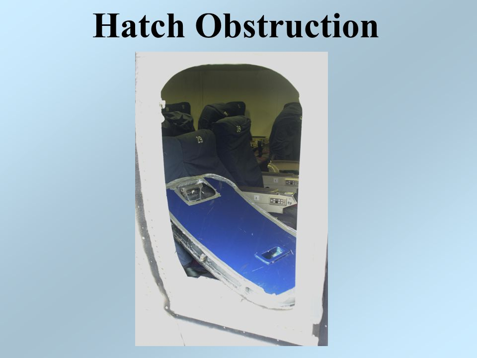 Hatch Obstruction