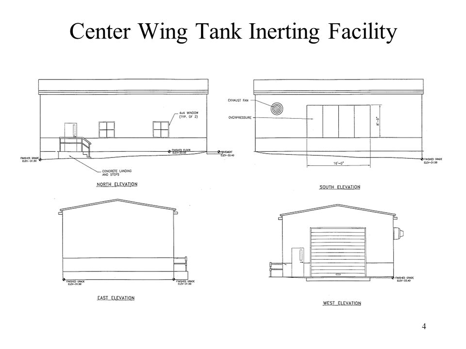4 Center Wing Tank Inerting Facility