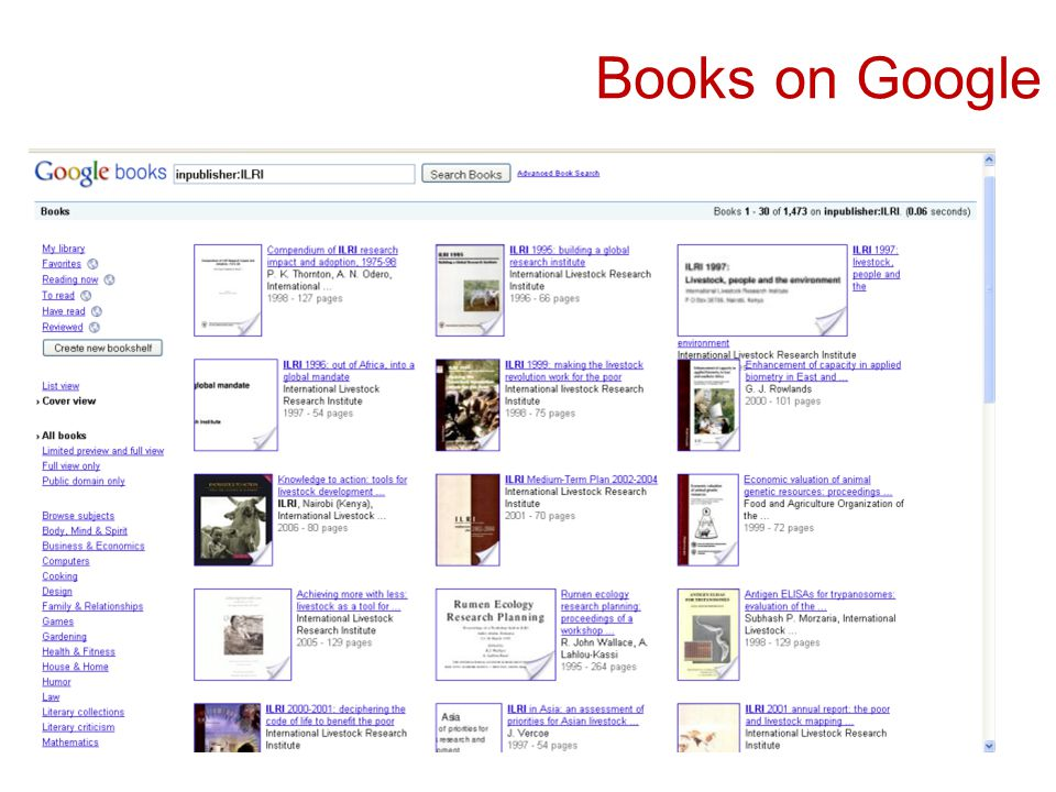 Books on Google