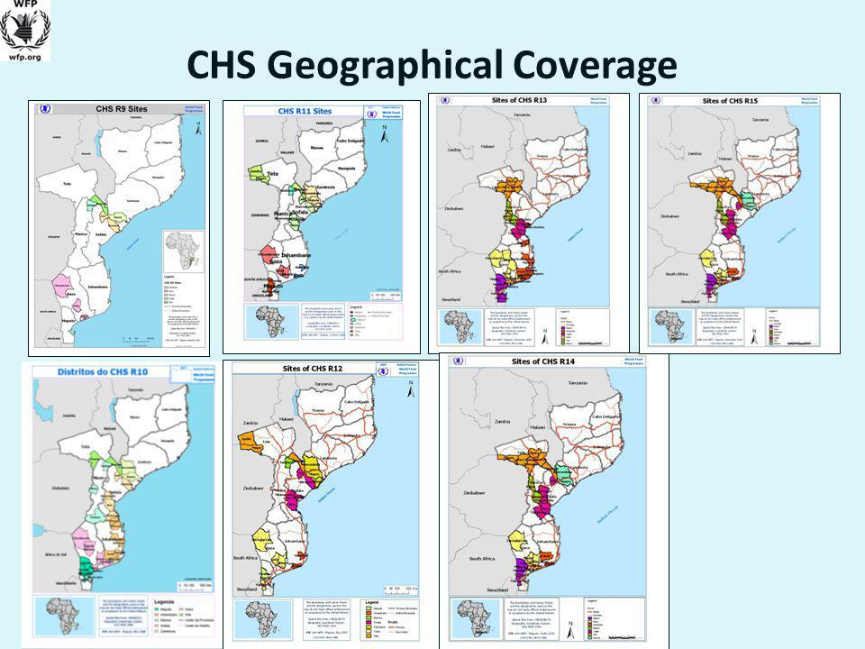 CHS Geographical Coverage