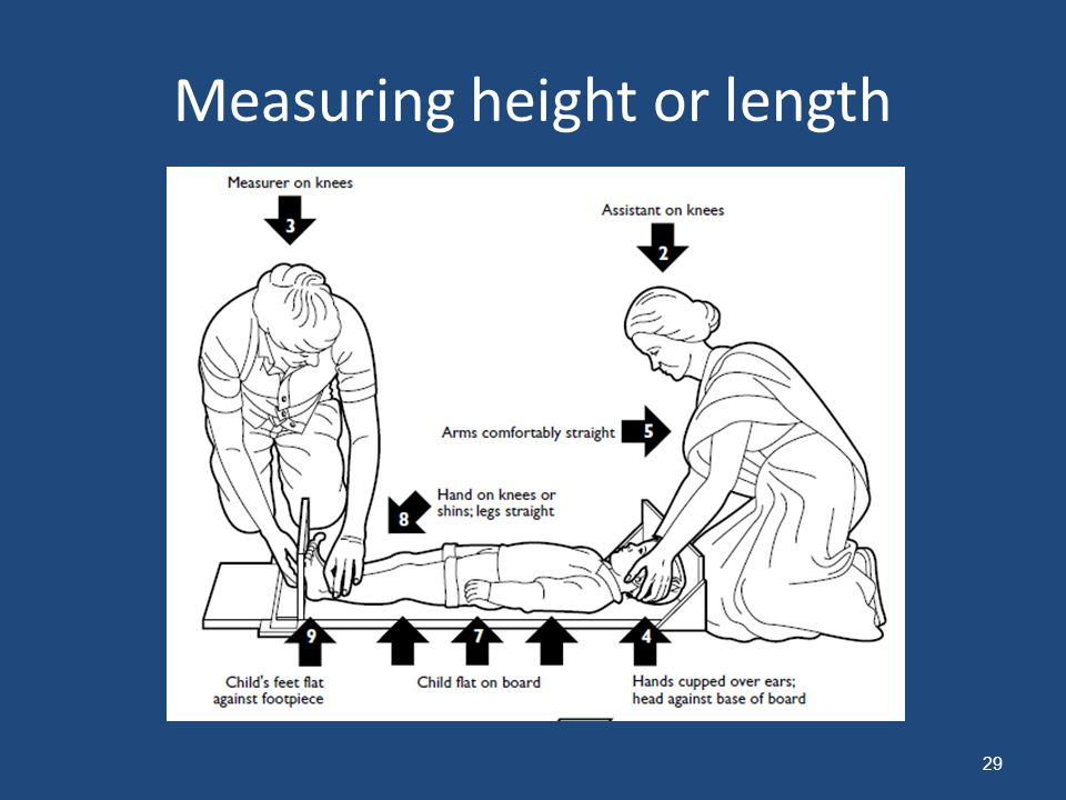 Measuring height or length 29