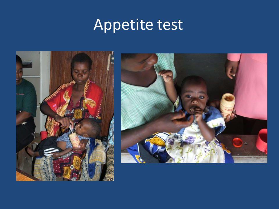 Appetite test