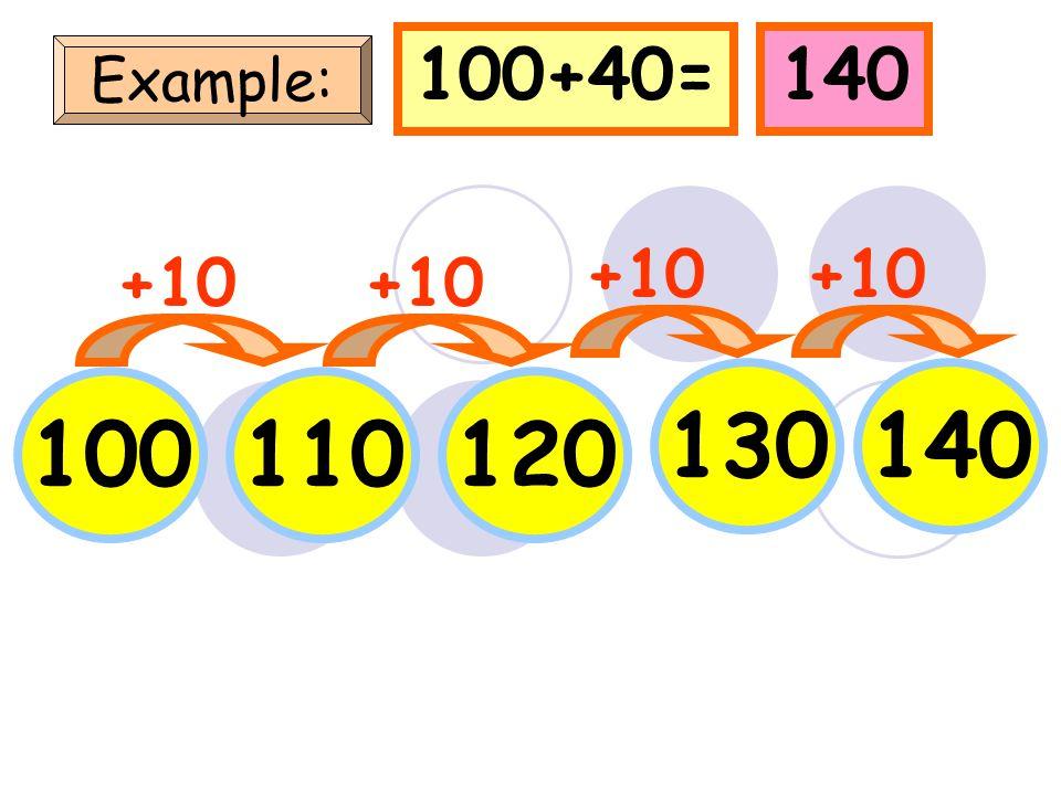 10 Example: 203040 +10 10+30=40