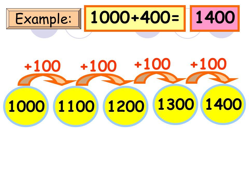 238+400=638 Example: 238 +100 338438 538 +100 638 +100
