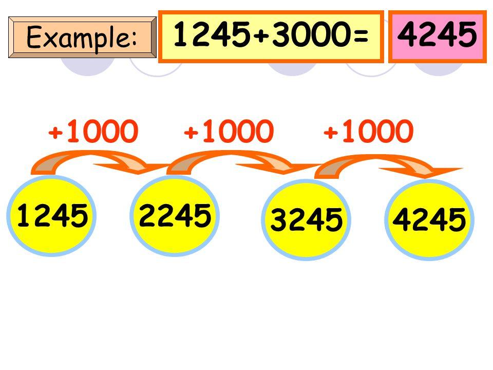 6240+3000=9240 Example: 6240 +1000 7240 82409240 +1000