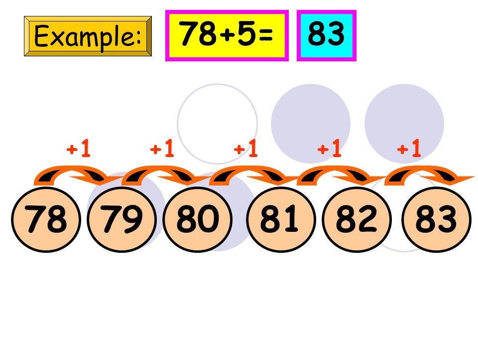 24 Example: 252627 +1 24+5=29 2829 +1