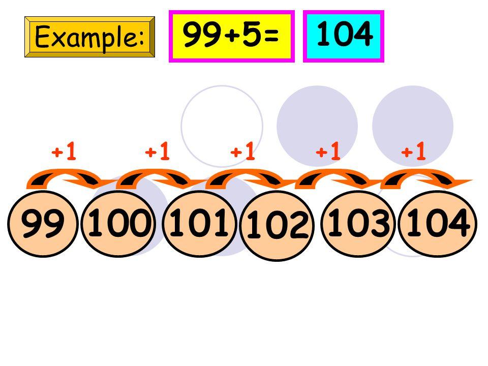 78 Example: 798081 +1 78+5=83 8283 +1
