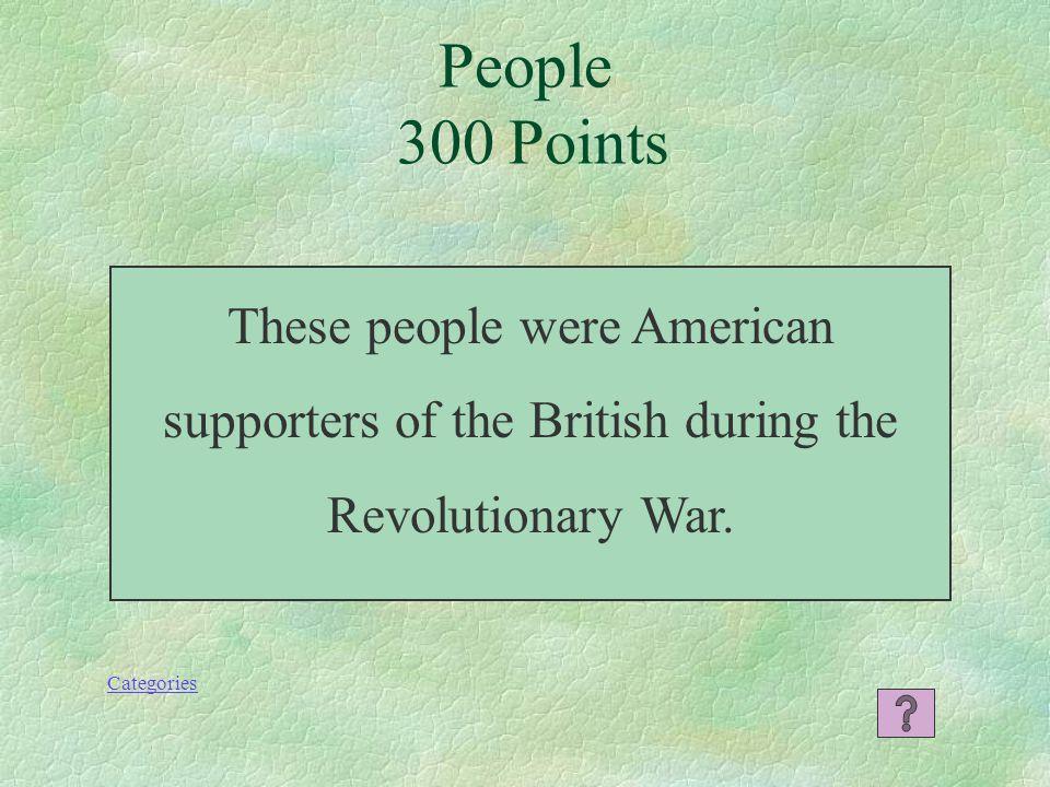 Who is John Locke People 200 Points