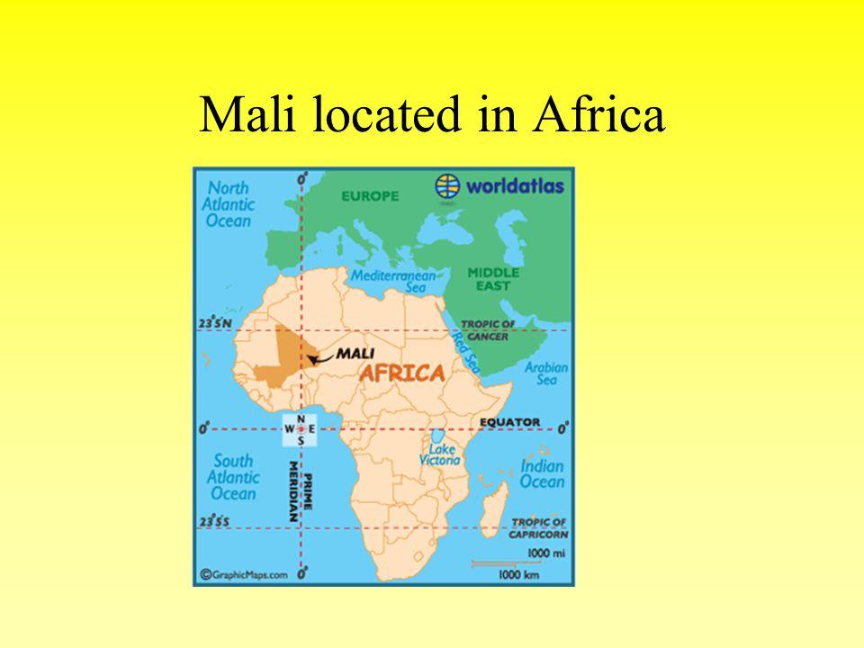 Mali located in Africa