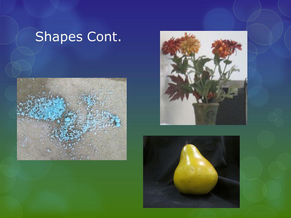 Shapes Cont.