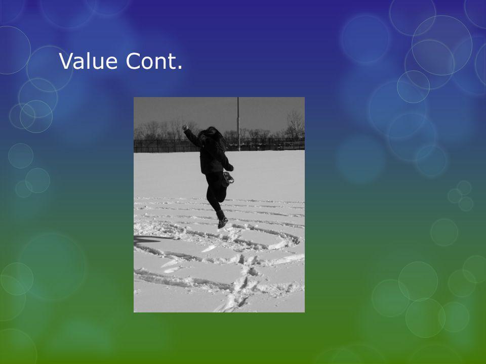 Value Cont.