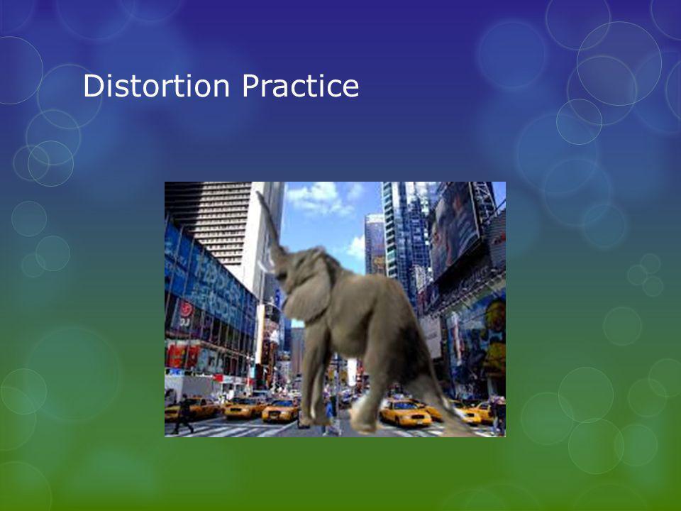 Distortion Practice