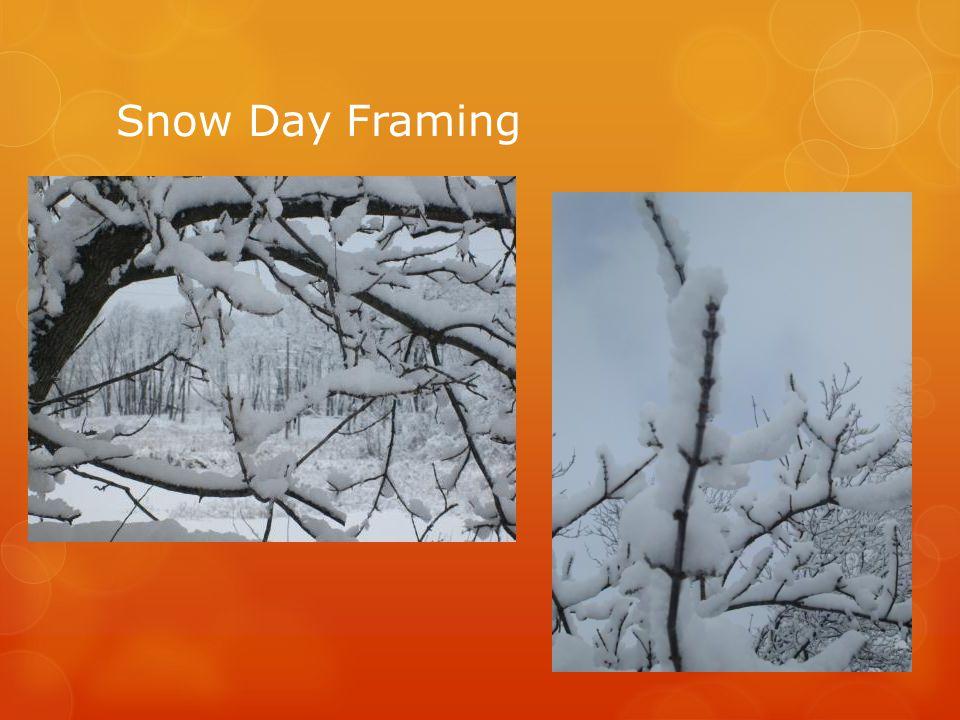Snow Day Framing