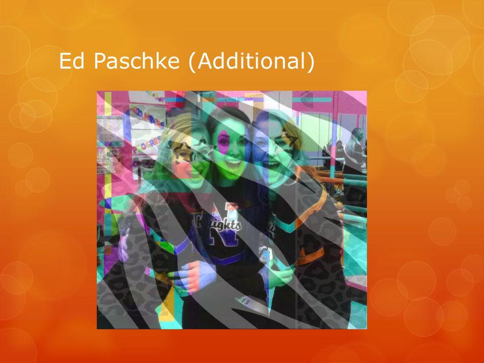Ed Paschke (Additional)
