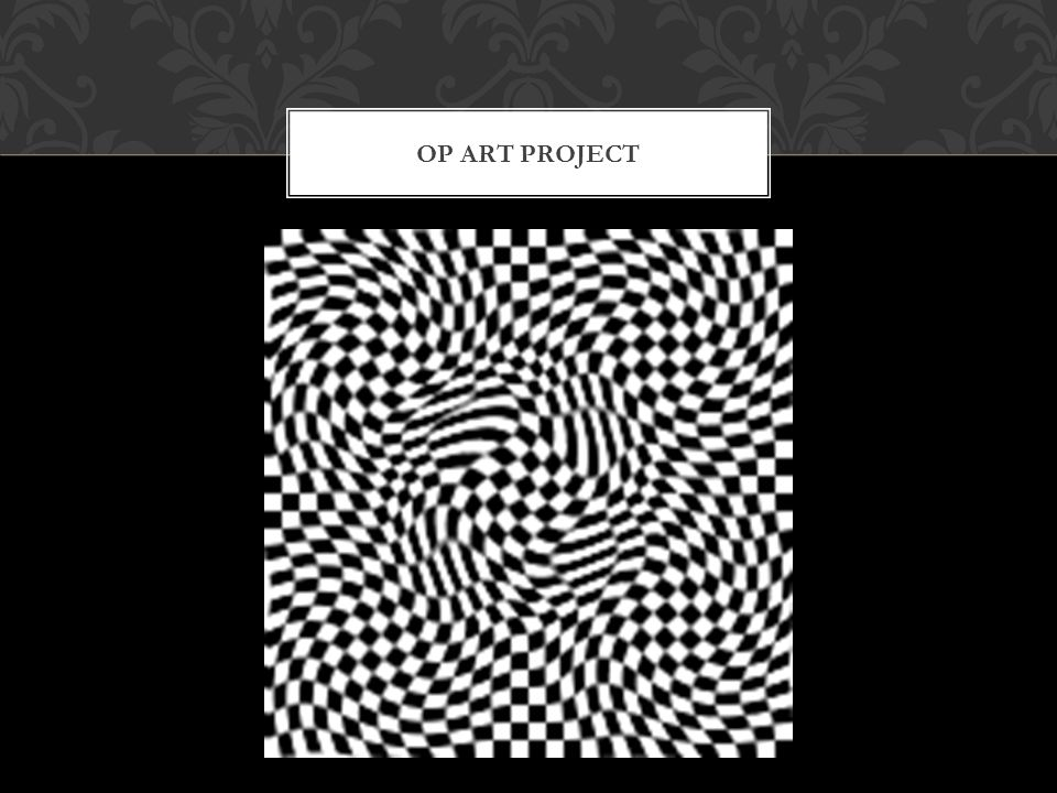 OP ART PROJECT