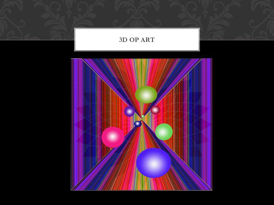 3D OP ART
