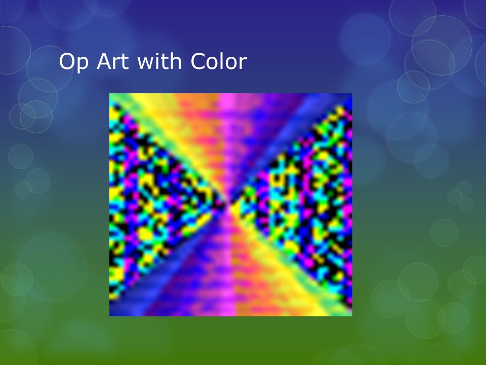 Op Art with Color