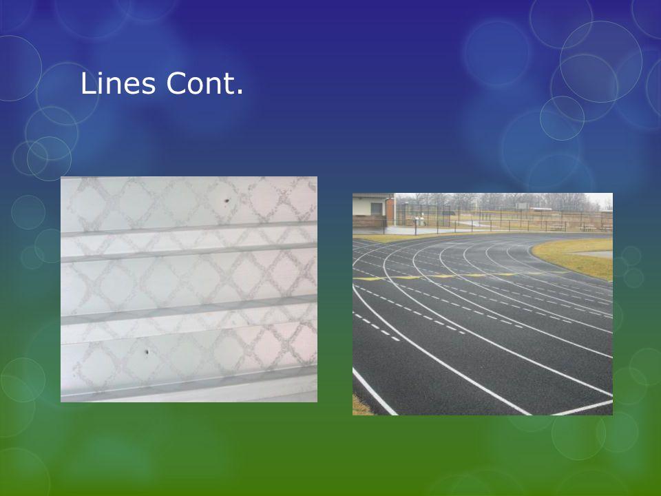 Lines Cont.