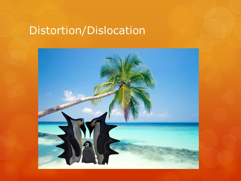 Distortion/Dislocation