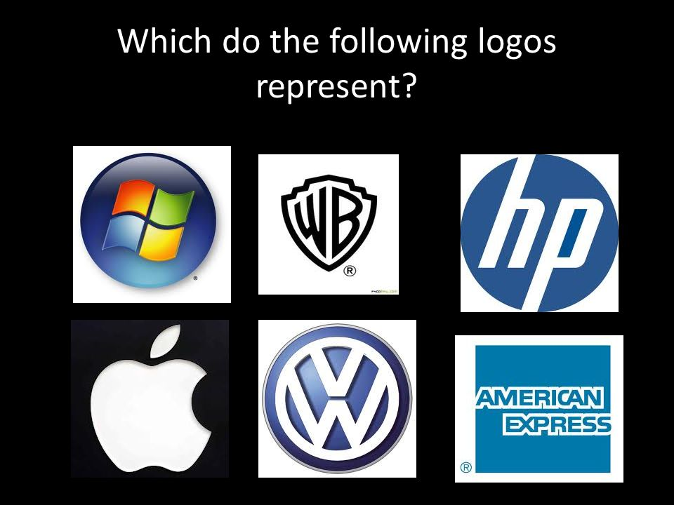 Which do the following logos represent?